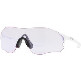 Oakley EVZero Path Gafas de sol, polished white/prizm low light